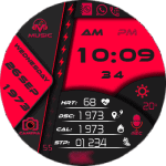 Clock Skin DIGI World Watch Face