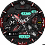 Clock Skin RR061 Watch Face