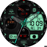 Clock Skin RR063 Watch Face