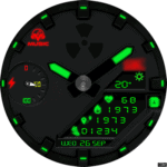 Clock Skin RR064 Watch Face