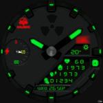 Clock Skin RR064 Clock Face