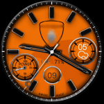 Clock Skin Andro Speed Watch Face