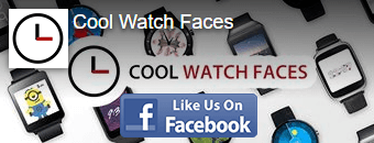 Follow Cool Watch Faces on Facebook