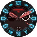 Diesel Neon Watch Face