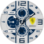 Fake Ferrari Watch Face