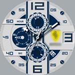 Fake Ferrari Watch Face