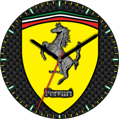 Ferrari Horse Android Watch Face