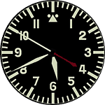 Flieger Watch Face