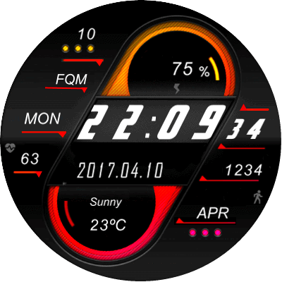 Galaxy Watch Android Watch Face
