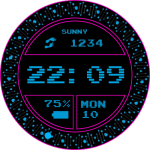 Gif P Pink Watch Face