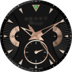 Graff Chrono Rose Gold Watch Face