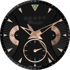 Graff Chrono Rose Gold VXP Watch Face