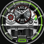 HYT Green Watch Face