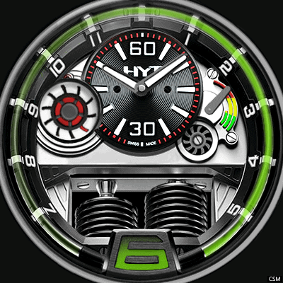 HYT Green Android Watch Face