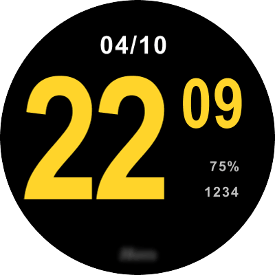 Hom 3 Android Watch Face