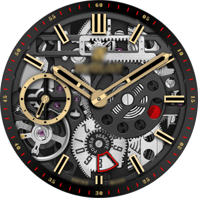 Hublot Magic gold Android Watch Face