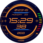 Hud Display v3.English Watch Face