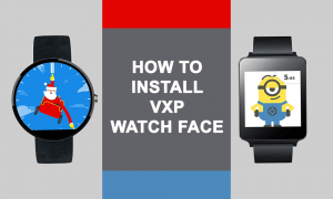 Install VXP Watchface on MTK Smartwatch