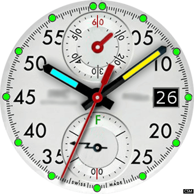 Iwc 2a Android Watch Face
