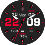 JN 3 Colours Watch Face