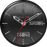 JN Carbon Fiber Watch Face