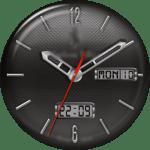 JN Carbon Fiber Watch Face