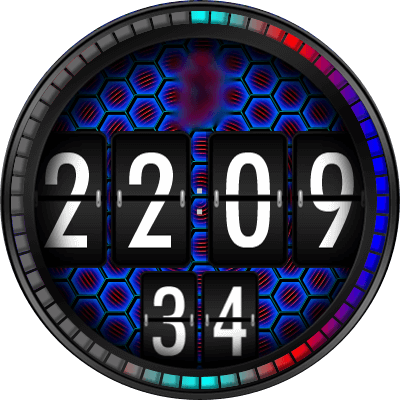 JN Colours Playng Android Watch Face
