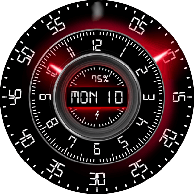 JN Deep Tunel Android Watch Face