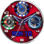 JN Earth View Watch Face
