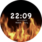 JN Fire Watch Face