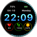 JN Moto V2 Watch Face