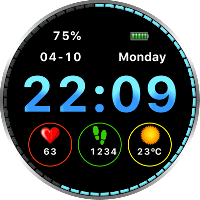 JN Moto V2 Android Watch Face