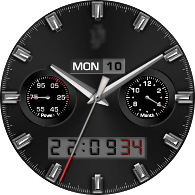 JN Professional Class Android Watch Face