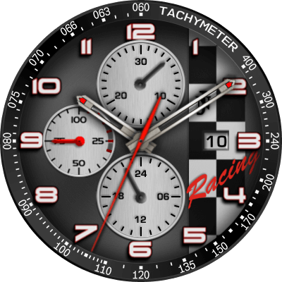 JNRacing V2 Android Watch Face