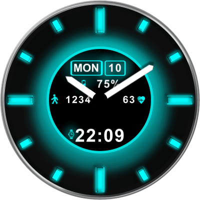 JN Solar Eclipse Android Watch Face