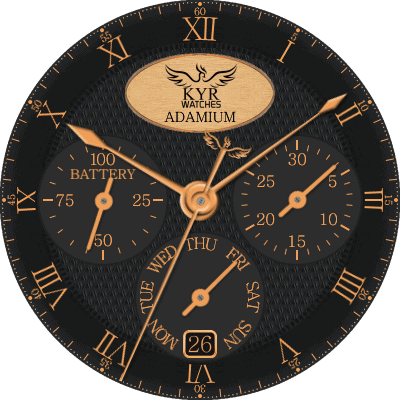 KYR Adamium Android Watch Face