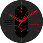 KYR Asphalt Collection Clock Face