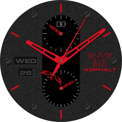 KYR Asphalt Collection Android Watch Face