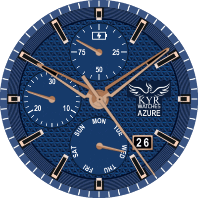 KYR Azure Android Watch Face