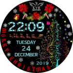 KYR Christmas Watch Face