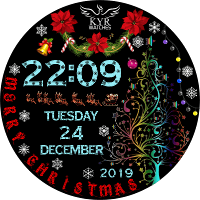 KYR Christmas Android Watch Face