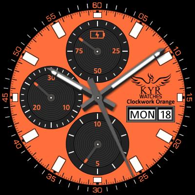 KYR Clockwork Orange Android Watch Face