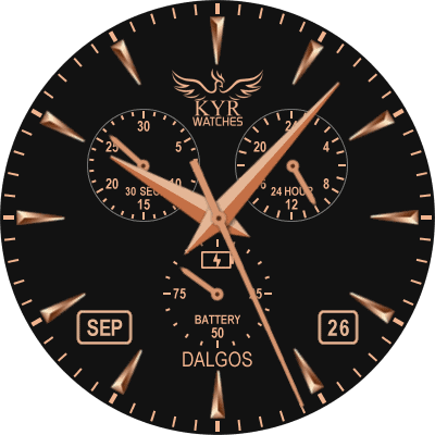 KYR Dalgos Android Watch Face