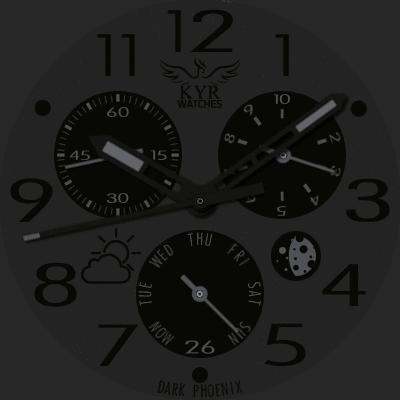 KYR Dark Phoenix Android Watch Face