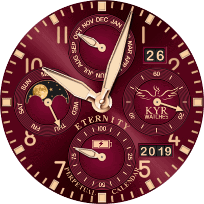 KYR Eternity Perpetual Calendar Android Watch Face