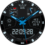 KYR ExoFlight Night Hawk Watch Face