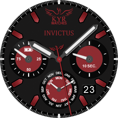 KYR Invictus Android Watch Face