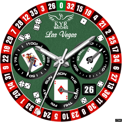 KYR Las Vegas Android Watch Face