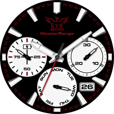 KYR Master Range Android Watch Face