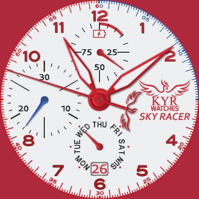 KYR Sky Racer Android Watch Face